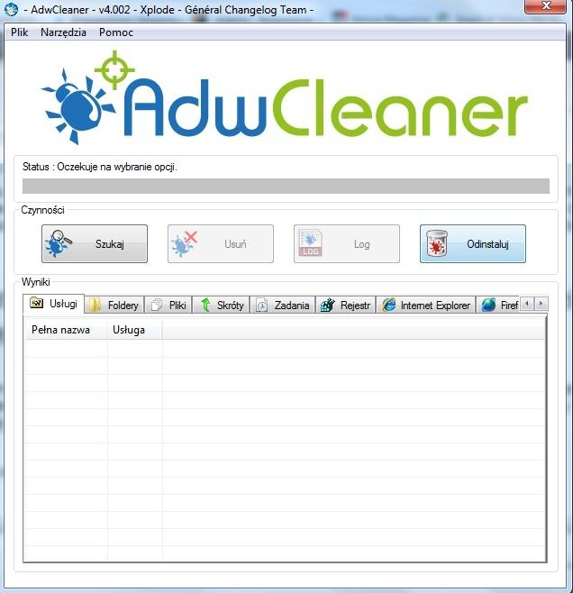 Jak usunąć reklamy na komputerze i paski narzędzi Toolbar.